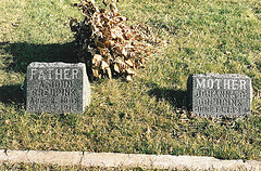 Graves of Arend Jan Greupink and Johanna Berendina te Roller.