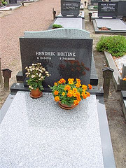 Grave of Hendrik Hoitink in Winterswijk.
