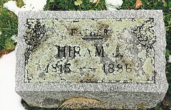 Grave of Harmen Jan Reuselink.