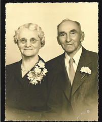 Derk William Huenink and Catharina Jentink