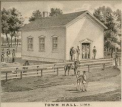 Town Hall of Lima, Sheboygan County, WI (1875)