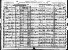 Muskegon, Muskegon county, Michigan 1920 census records