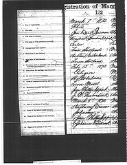 Marriage record of Jan Derk Vreman and Hendrika Berendina Eppink.